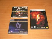 Lot Of Resident Evil 4, 5, 6 Pc Russian Edition Brand New And Sealed Read Below