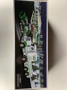 2013 Hess Toy Truck And Tractor - New In Box - Never Opened-with Hess Bags