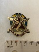 Authentic Beercan Insignia Us Army 307th Aviation Battalion Dui Unit Crest