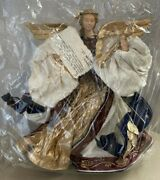 Paulette Cui Paper Angel Figure Doll Handcrafted 13 Abaca Rare Tree Topper