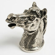 Vintage Horse Head Bottle Opener. Silver Plate. With Box.