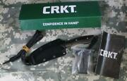 Crkt 2388 S.p.e.w. Compact Fixed Blade Neck Knife Wharncliffe Blade Sheath New