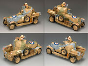 King And Country Ea044 Desert Rolls-royce Sas Lrdg - Collectors Showcase Figarti 2