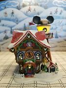 Dept. 56 Mickeyand039s North Pole Holiday House Disney Showcase Collection 56.56759