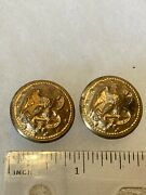 Authentic Wwii Usn Navy Uniform Buttons