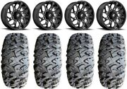 Fuel Runner 18 Wheels Black 33 Motoclaw Tires Can-am Renegade Outlander