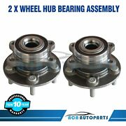 2 Front Wheel Bearing And Hub Assembly For Ford Fusion And Lincoln Mkz 2013 - 2016