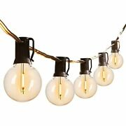 Led G40 Outdoor String Lights 100feet Patio With 101 Shatterproof Bulbs1 For -