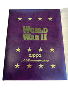 4x Zippos A Remembrance Wwii Volume 2 Limited Edition 1996 4 Lighters Unstruck