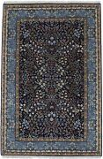 Teal Blue New Hand-knotted Kirman 4x6 Oriental Home Décor Wool Area Rug Carpet