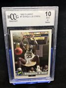 Shaquille O'neal Bccg 1992 Classic 1 Draft Pick Lsu Rookie Card.