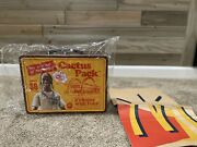 Travis Scott Mcdonalds Collectible Lunch Box Cactus Jack In Hand Ships Asap