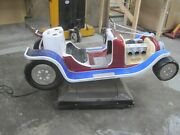 Coin Operated Vintage Antique Hot Rod Race Car Kiddie Ride