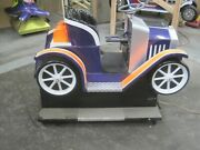 Coin Operated Model T Kiddie Ride Purple Old Car