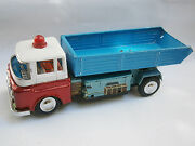Vintage Old Rare China Chinese Tin Toy Car Truck Battery Operated Tip Lorry