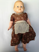 Antique Vinil Old Glass Eyes Schoberl And Becker Toy 1900's Celluloid German Doll