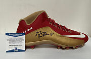 George Kittle Signed Autographed Nike Alpha Game Model Cleat 49ers Beckett Coa 1