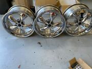 Chrome Foose Forged Series Wheels For Dodge Challenger Srt 392 With 6 Piston