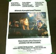 Film Poster Original Richard Gere Looking For Me Goodbar Movie Posters 1977 Wall