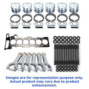 Cp Pistons 84.5 9.01 For For Bmw M54b30 Cometic Gasket Arp Head Stud Eagle Rods