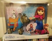 Disney Frozen Anna Doll With Sven Kohl's Exclusive New Doll Playset