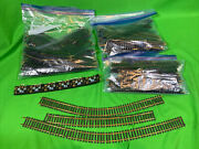 Ho Scale Model Vintage Train Track Switches Lot - Atlas