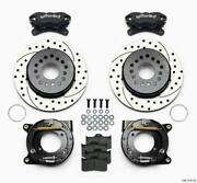 Wilwood Forged Dynalite P/s Park Brake Kit Drilled Chevy 12 Bolt W/ C-clips