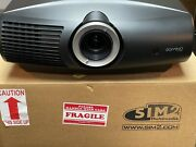 Sim2 Domino D60 1080p Dlp Projector, 1200 Lumens, Used Trade-in