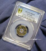 2019 2 Police Remembrance 30 Years Two Dollar Coin Pcgs Ms64 Gold Shield Unc