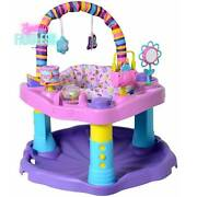 Evenflo Baby Bouncer Sweet Tea Party Activity Center Toddlers Learning Toy New