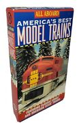 All Aboard-america's Best Model Trains-vhs Video-1994-lionel And American Flyer