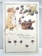 6 Vera The Mouse Hallmark Birthday Greeting Cards And Envelopes 1997 Lot 56