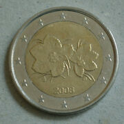 Rare 2 Euro Coin Finland 2008 2nd Mapnew Map
