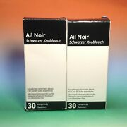 2 X Natural Goods Trading Ail Noir Complement Alimentaire 2x30 Comp 07/2023