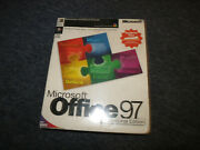 Microsoft Office 97 Professional Edition Academic Pack Brand New Sealed Vintage