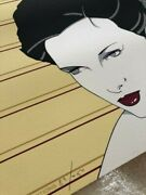 Patrick Nagel Hanson Limited Edition Signed 83/250 -andnbsp Art Deco - King Kong Andnbsp