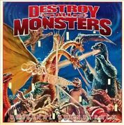 Destroy All Monsters [original Motion Picture Soundtrack] By Akira Ifukube Cd,
