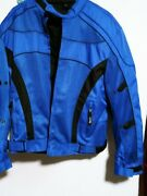 Men's Xelement Motorcycle Jacket L Waterproof Armored Removable Liner
