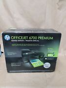 New Hp Officejet 6700 Premium Wireless Color E All-in-one Inkjet Bundle Edition
