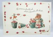 6 Vera The Mouse Hallmark Friend Greeting Cards And Env 1997 Lot 76