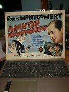 100 Original Motion Picture Movie Lobby Card Haunted Honeymoon A Film