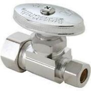 New Brasscraft 1/2 In. Compression Inlet X 3/8 In. Compression Outlet Brass Mult