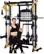 Smith Machine With Cable Crossover Add Leg Press Plate For 250 More.