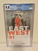 East Of West 1 Cgc 9.8 Nm+/m Forbidden Planet Variant Image Comics 2013 White