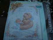 Nip Dimensions 13088 Stamped Cross Stitch Sweet Prayer Crib Cover Wall Quilt