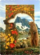 Nautilus Wooden Puzzles Grizzly Bear Dreams - 400 Piece Wooden Jigsaw Puzzle