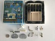 Singer Touch And Sew Accessories For Special Zig Zag Sewing Machine Model 648