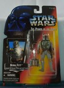 Boba Fett Action Figure Hand Error Kenner Star Wars The Power Of The Force 1995