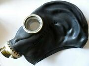 Ww2 Ussr Army Soviet Rubber Gas Mask Gp-5 Russian Black Military Onlynew Size 0