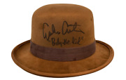 Emilio Estevez Signed Young Guns Billy The Kid Hat Autograph Proof Pic Beckett B